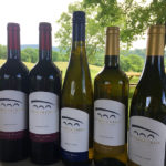 Five Antietam Creek Vineyards wine bottles