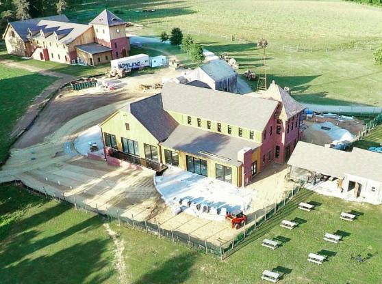 Chateau Bu-De's ambitious project nears completion