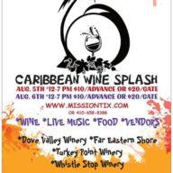 Caribbean Wine Splash at Dove Valley Vineyard