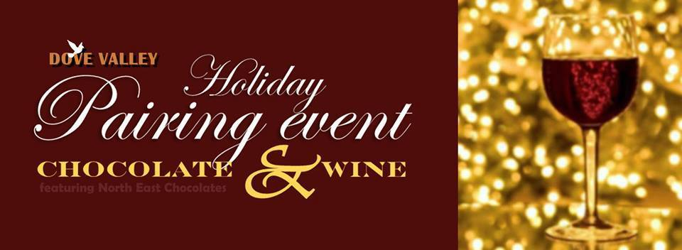 Holiday Pairing Event *Chocolate & Wine Pairing