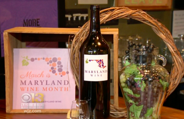Maryland Wine Month Celebrates State's Growing Industry