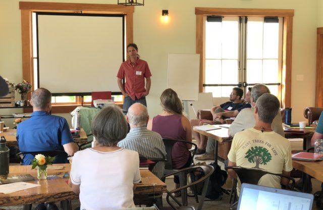 MWA hosts Bonterra's Joseph Brinkley for Biodynamic Vineyard Seminar