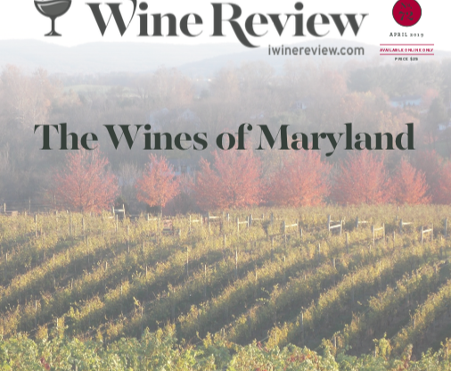 The International Wine Review Scores Maryland Wine