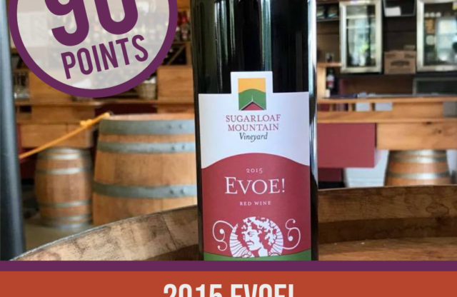 Sugarloaf Mountain Vineyard Scores 90 in International Wine Review