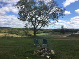 Fall at the winery