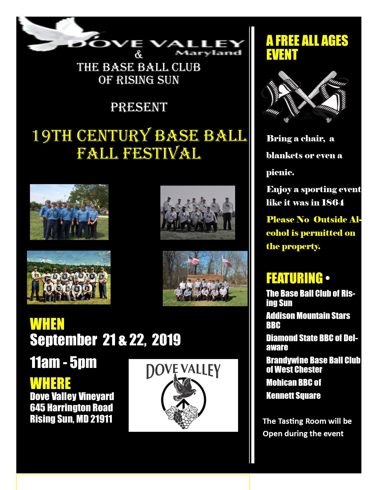 19th Century Base Ball Festival