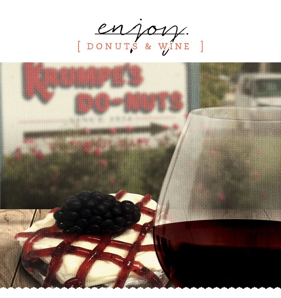 Krumpe's Donut and Wine Pairing
