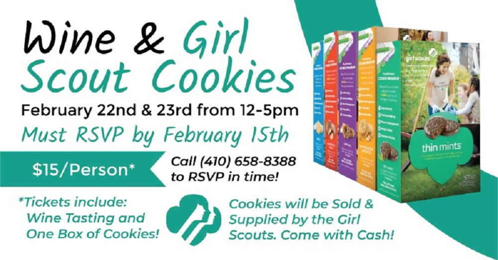 Wine & Girl Scout Pairing