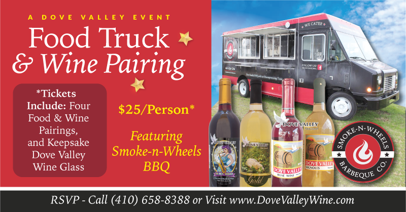 "Food Truck ""Wine Pairing"" Featuring Smoke-n-Wheels BBQ"