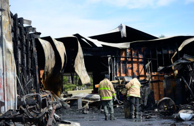 Flames engulf maintenance building at Carroll County Farm Museum in Westminster