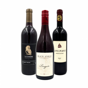 The 2021 Q3 red wine pack including three bottles